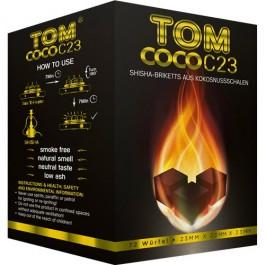 Уголь кокосовый Tom Cococha 0,8 кг (72 шт)