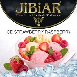 Jibiar Ice Strawberry Raspberry (Лед Клубника Малина) - 100 грамм