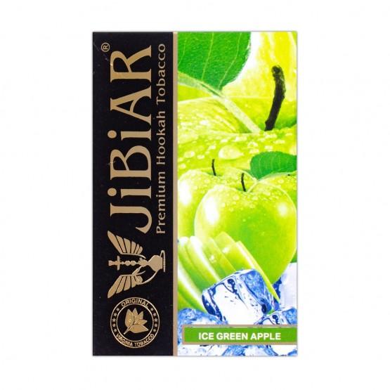Табак Jibiar Ice Green Apple (Лед Зеленое Яблоко) - 50 грамм