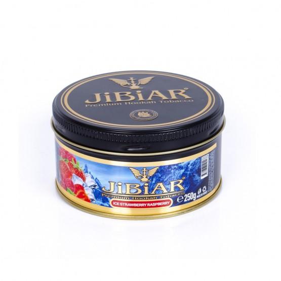 Jibiar Ice Strawberry Raspberry (Лед Клубника Малина) - 250 грамм