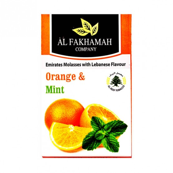 Al Fakhamah Orange & Mint (Апельсин мята) - 50 грамм