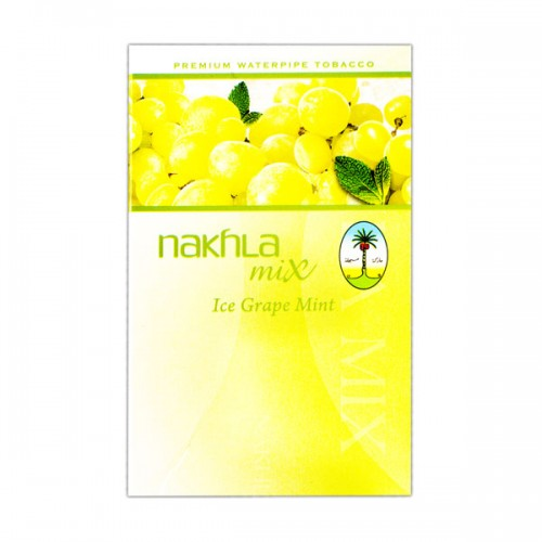 Nakhla Mix Ice Grape Mint (Лед виноград мята) - 50 грамм